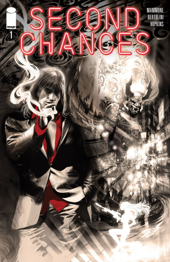 Ricky Mammone & Max Bertolini team up for action noir comic SECOND CHANCES