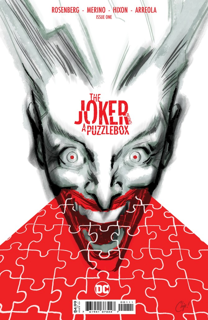 THE JOKER PRESENTS: A PUZZLEBOX invites readers to solve its mystery