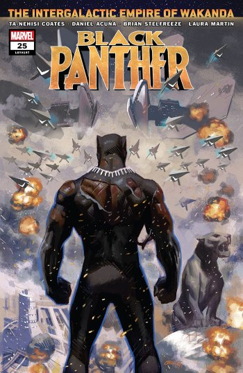 The Marvel Rundown: Ta-Nehisi Coates's BLACK PANTHER run reaches its conclusion