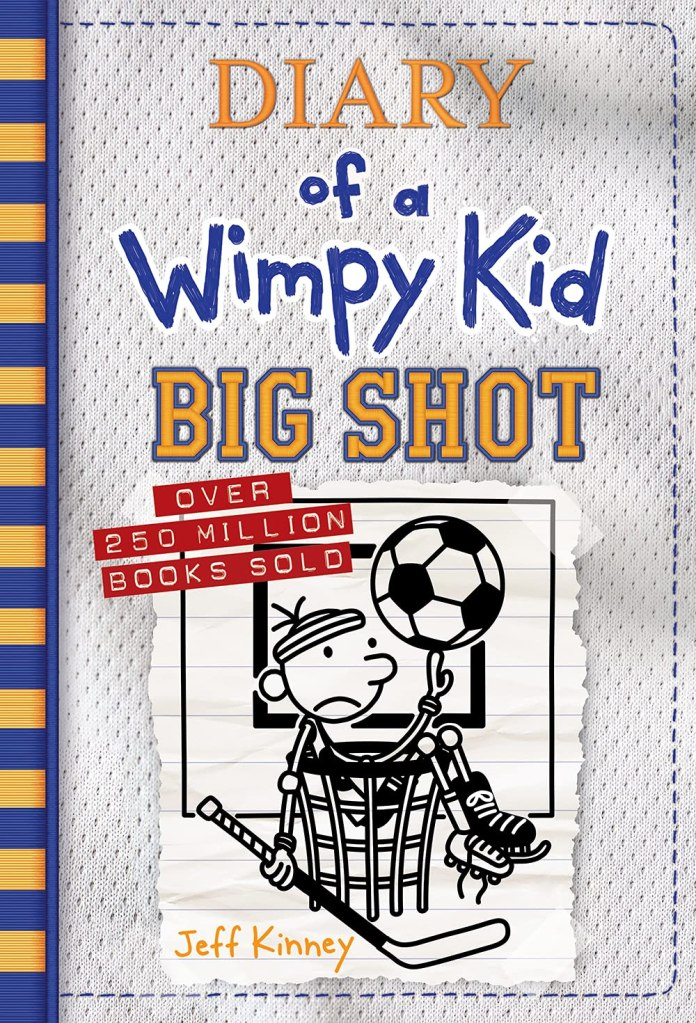 The 16th book in the Wimpy Kid series is coming: Big Shot