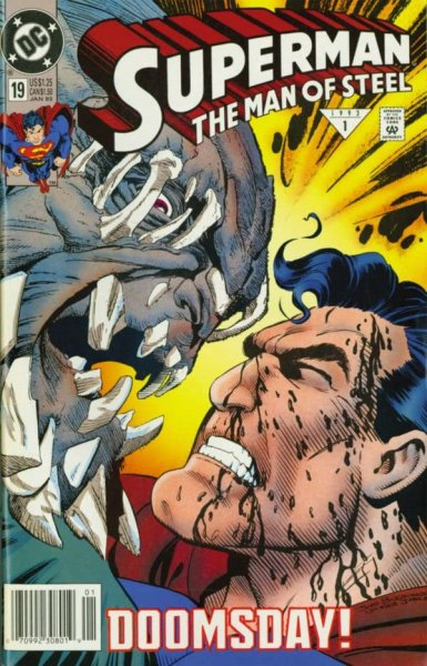 The Never-Ending Battle: SUPERMAN: THE MAN OF STEEL #19