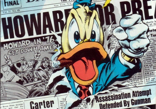 SILBER LININGS: Steve Gerber's HOWARD THE DUCK was trapped in a time it never made