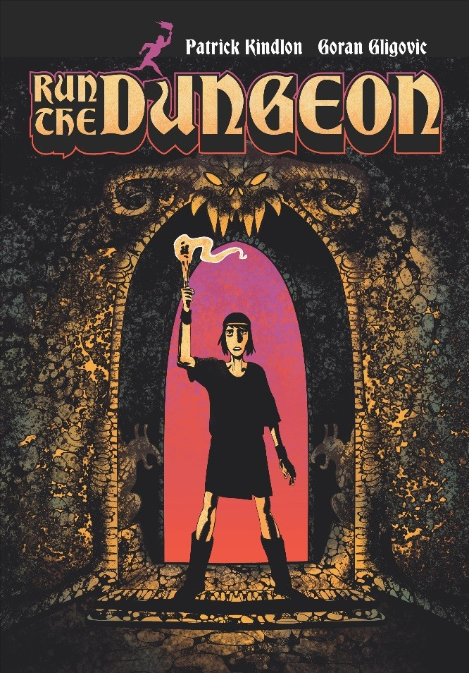 Kindlon & Gligovic's RUN THE DUNGEON coming from Z2 Comics this August