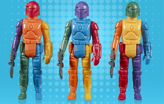 Rainbow prototype Boba Fett highlights Hasbro May the 4th 2021 reveals