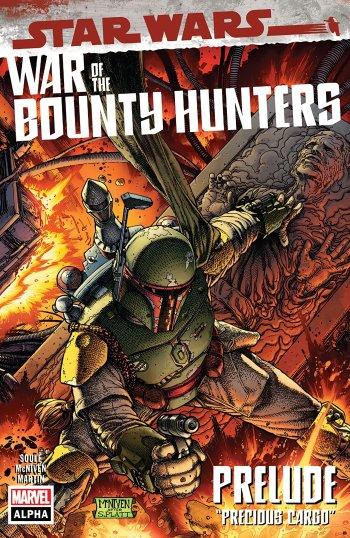 The Marvel Rundown: Boba Fett has his hands full in STAR WARS: WAR OF THE BOUNTY HUNTERS ALPHA #1