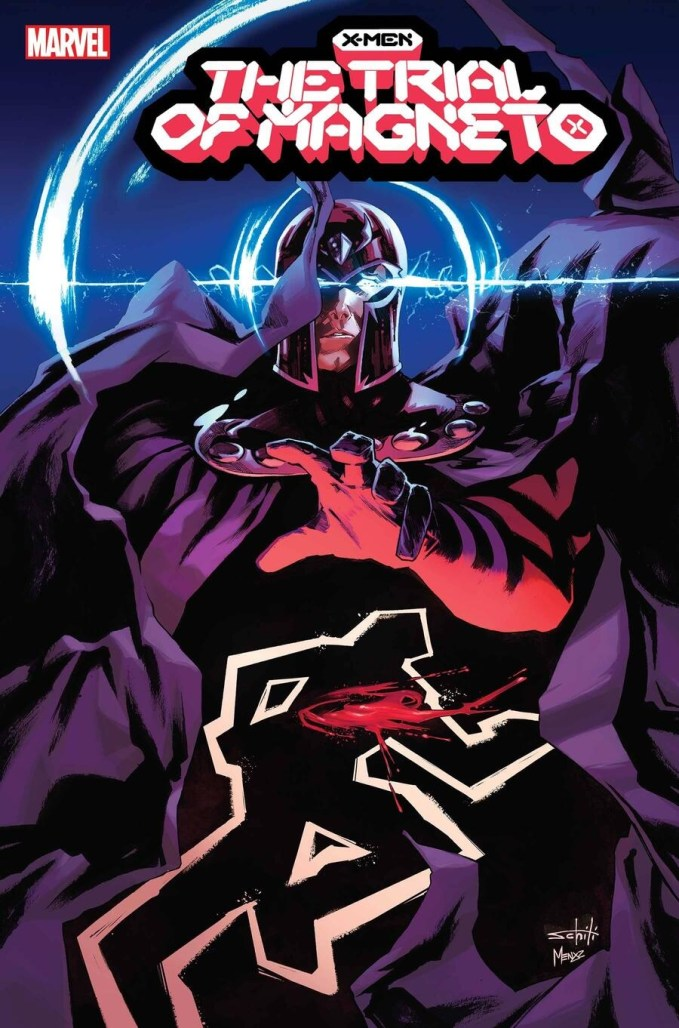 SUMMONS: Leah Williams & Lucas Werneck go to court in TRIAL OF MAGNETO limited series