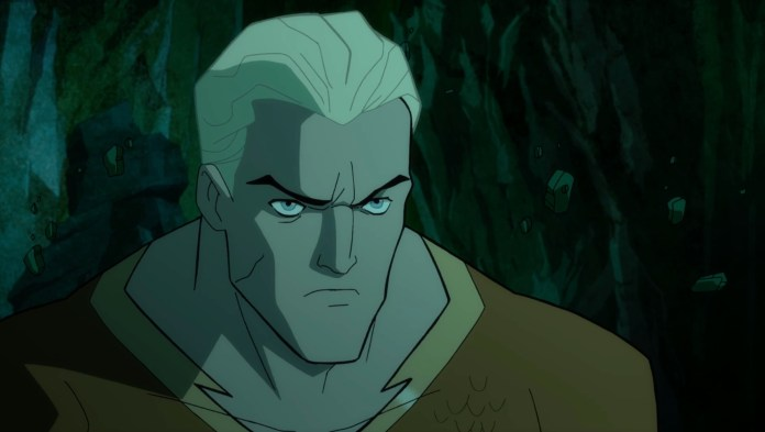 Liam McIntyre dives into Aquaman's role in JUSTICE SOCIETY: WORLD WAR II video interview