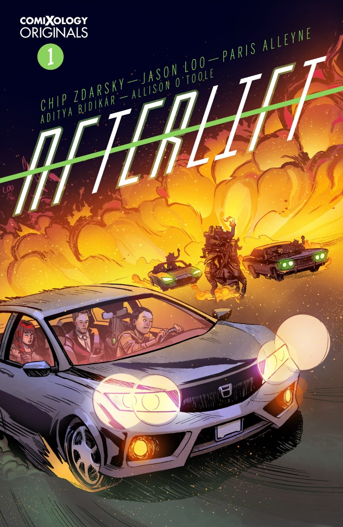 GRAPHIC NOVEL CLUB: AFTERLIFT writer Chip Zdarsky says writers should learn how to draw