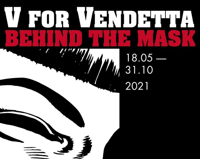 London's Cartoon Museum reopens with V FOR VENDETTA exhibition