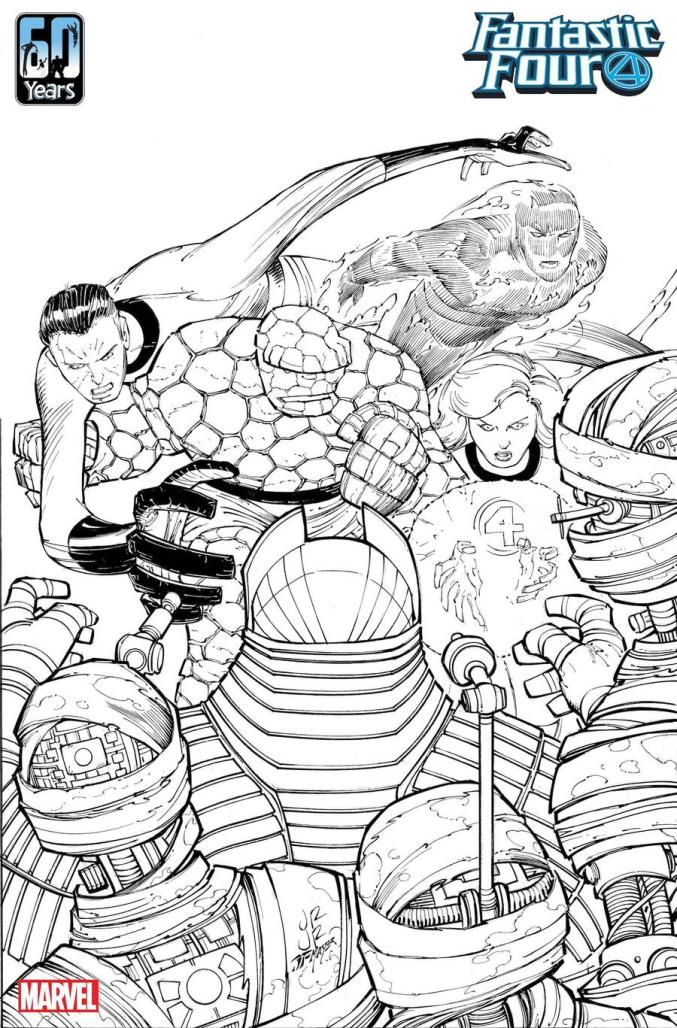 John Romita Jr. joins all-star artist lineup for FANTASTIC FOUR 60th Anniversary issue