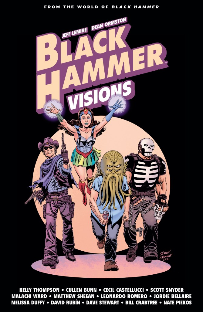 EXCLUSIVE: Jerry Ordway covers BLACK HAMMER VISIONS Volume 2 for Dark Horse