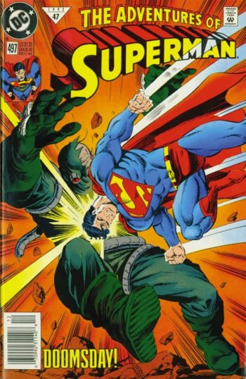 The Never-Ending Battle: THE ADVENTURES OF SUPERMAN #497