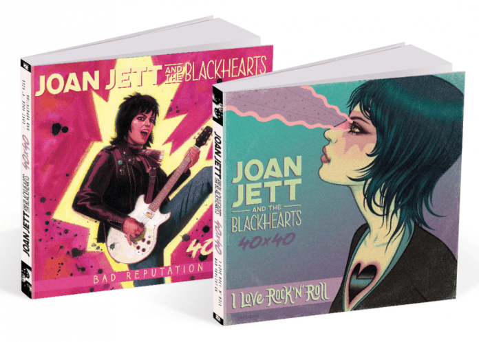 Z2 announces JOAN JETT AND THE BLACKHEARTS – 40×40 anthology