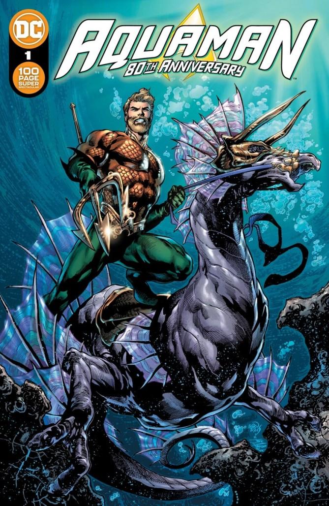 Aquaman 80th anniversary celebration anthology set for August