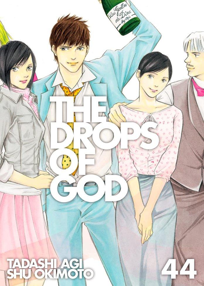 Kodansha's wine manga The Drops of God is finally complete in English