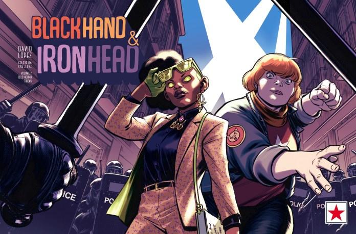 INTERVIEW: David López talks BlackHand & IronHead Vol. 2