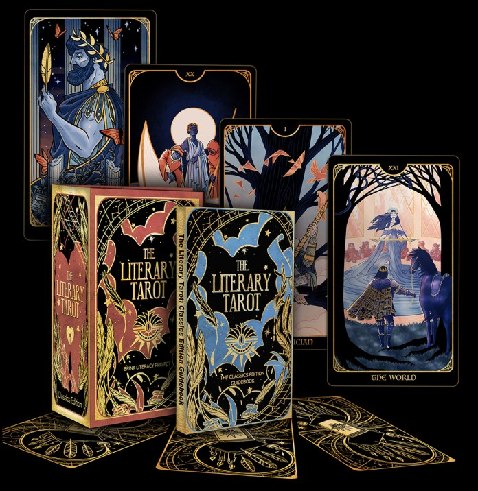 INTERVIEW: Dani Hedlund reveals how they brought Gatsby, Camelot, and more to THE LITERARY TAROT