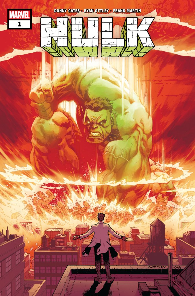 Donny Cates and Ryan Ottley taking over HULK this fall