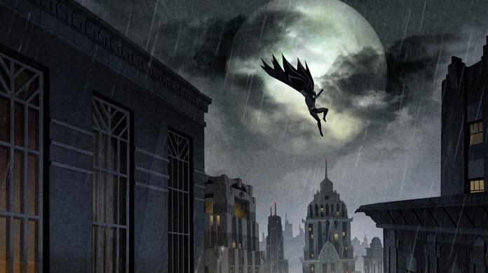 New images reveal noir art direction for BATMAN: THE LONG HALLOWEEN animated adaptation