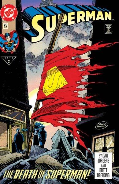 The Never-Ending Battle: SUPERMAN #75