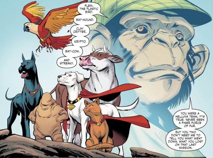 SILBER LININGS: If you don't like superhero pets, you're wrong