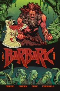 Vault reveals an extended preview of BARBARIC #1