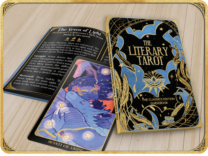 THE LITERARY TAROT rallies Atwood, DeConnick, Hickman, and more together for classic literature and tarot