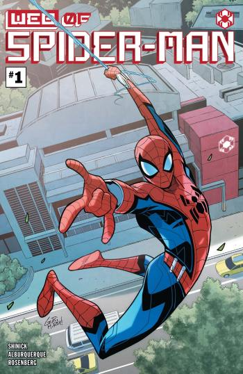 The Marvel Rundown: W.E.B. OF SPIDER-MAN #1 swings out of Avengers Campus