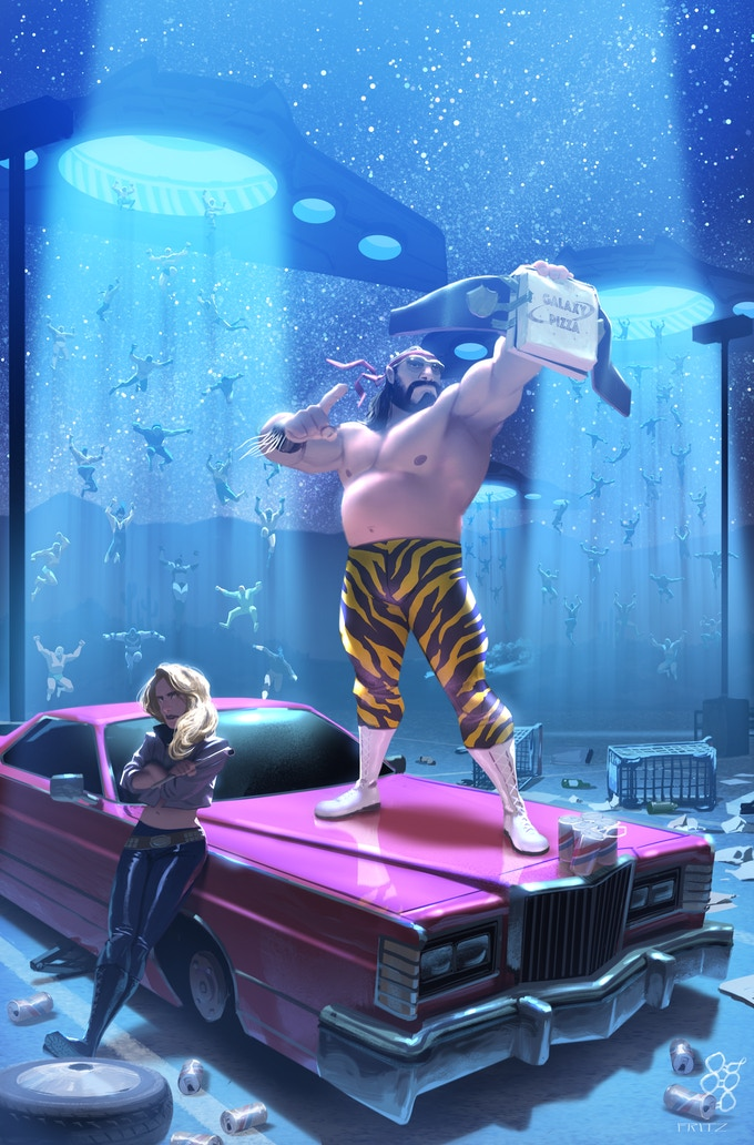 Turnbuckle BEATdown: Writer Ed Kuehnel on crafting an intergalactic wrestling epic with INVASION FROM PLANET WRESTLETOPIA