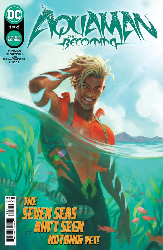 AQUAMAN: THE BECOMING limited series starring Jackson Hyde announced